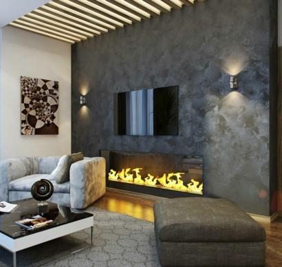 wohnzimmer grau - in 40 beispielen erfahren, wie das geht - Gardinen Wohnzimmer Grau