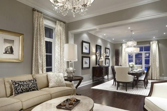 Wohnideen Wohnzimmer Grau Mit Beige Kombinieren