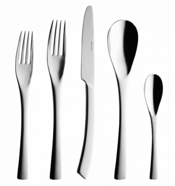 Besteckset festliche Tischdeko außergewöhnliche Besteckform