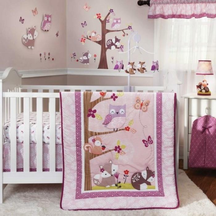 Bilder Eulen Accessoires Babyzimmer Bettwäsche Muster Eule