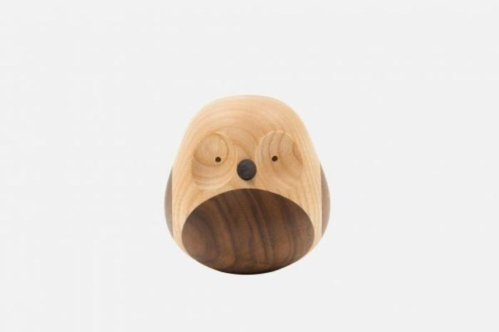 Deko Eulen Accessoires Dekoartikel Eule aus Holz