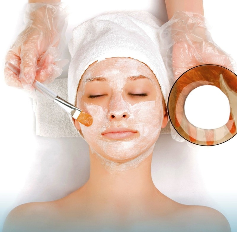 Gesichtsmasken selber machen Hafermehl Gesichtsmaske schöne Haut