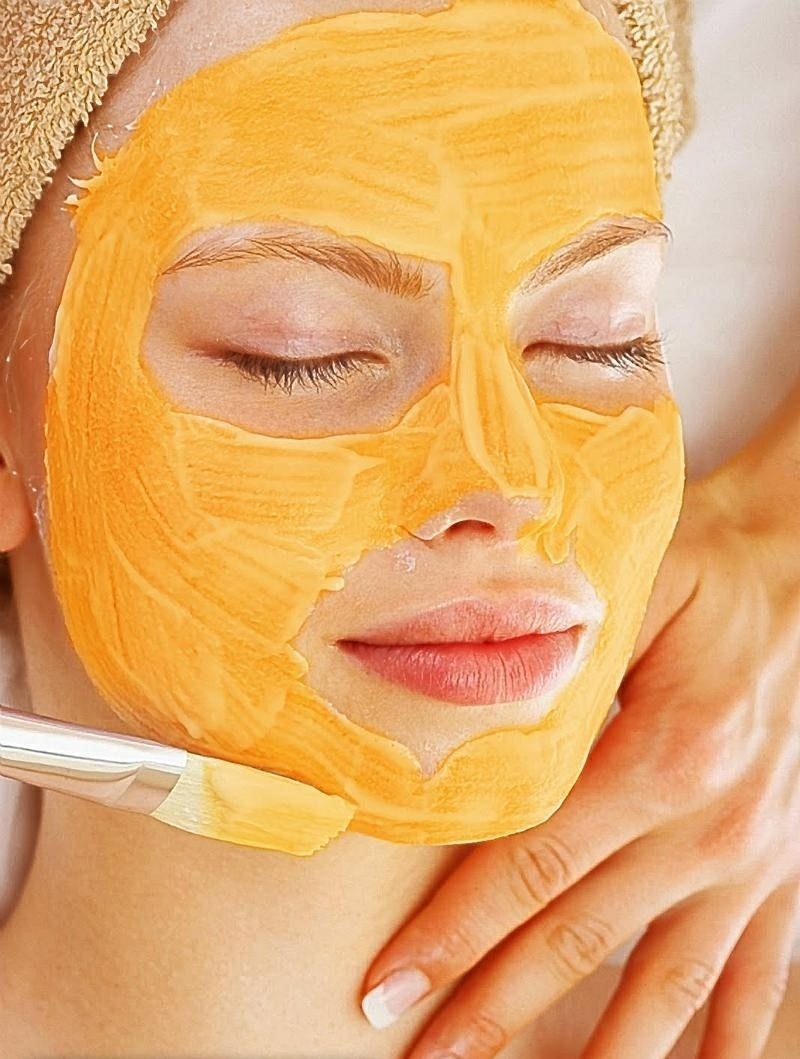 Gesichtsmasken selber machen mit Papaya Gesichtsmaske