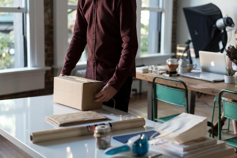 Individuelles Verpackungsmaterial Marketing Trend
