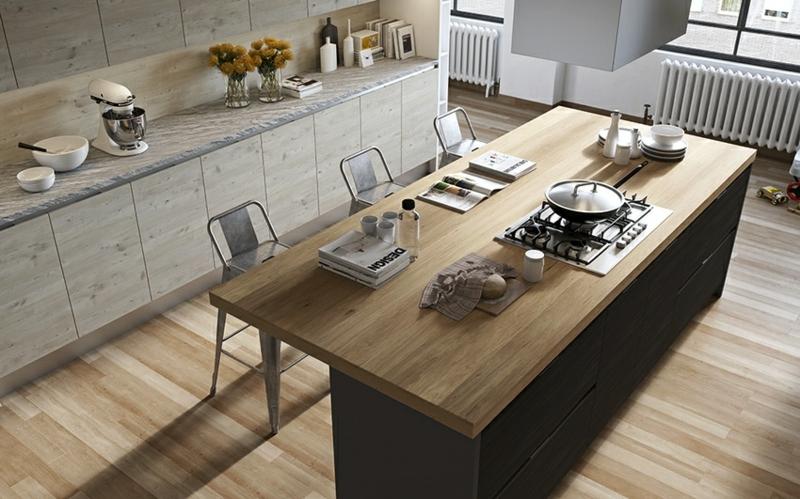 Kücheninsel Esstisch Küchendesign Kücheneinrichtungen für Männer