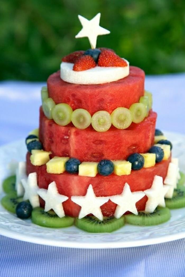 Kalorien Wassermelone Diät gesunde Ernährung Wassermelonen Kuchen