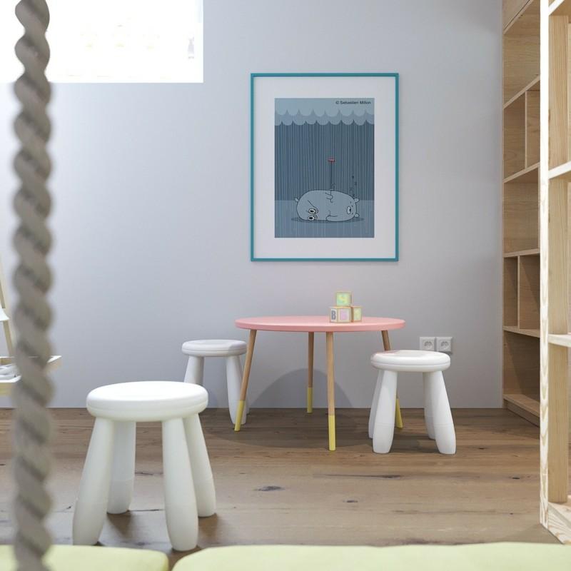 Kinderzimme skandinavisch einrichten Kinderzimmer Möbel