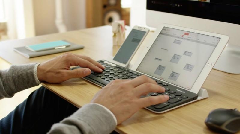 Logitech Tastatur Logitech k780 Arbeit am Computer