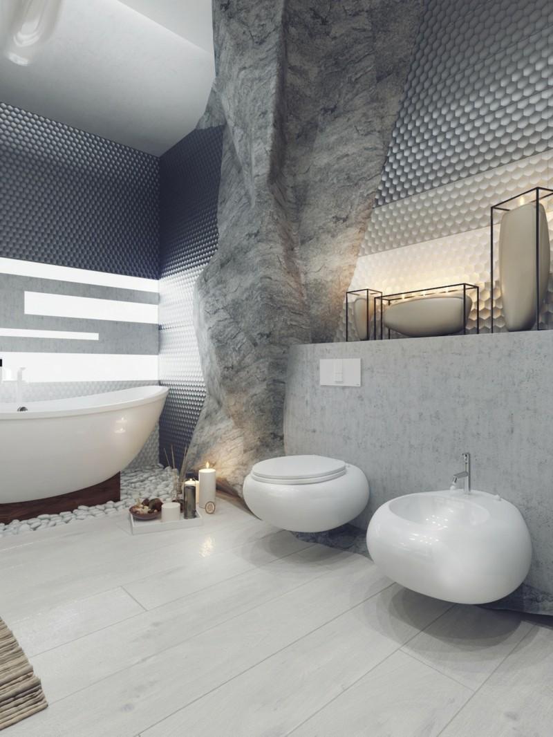 Luxus Badezimmer Einrichtung Bad Höhle