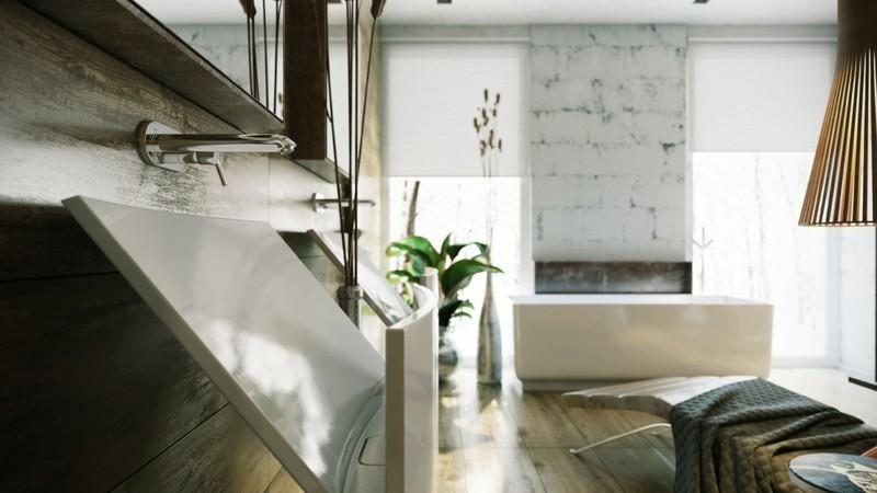 Luxusbäder Bilder Badmöbel moderne Badarnatur Luxus Badezimmer