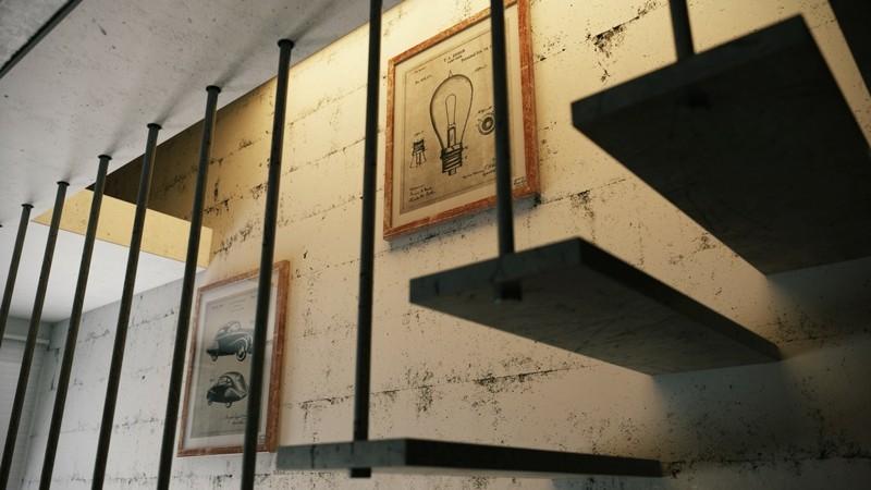 Luxusbäder Bilder Relax Badmöbel Badeinrichtung Treppen Bricksteinwand Deko
