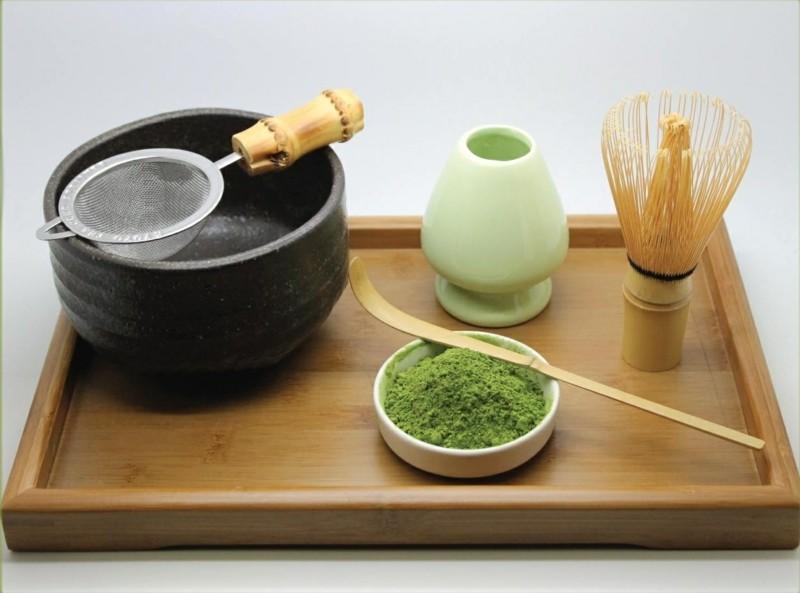 Matcha Tee Zubereitung gesunde Ernährung Tipps Tee Arten