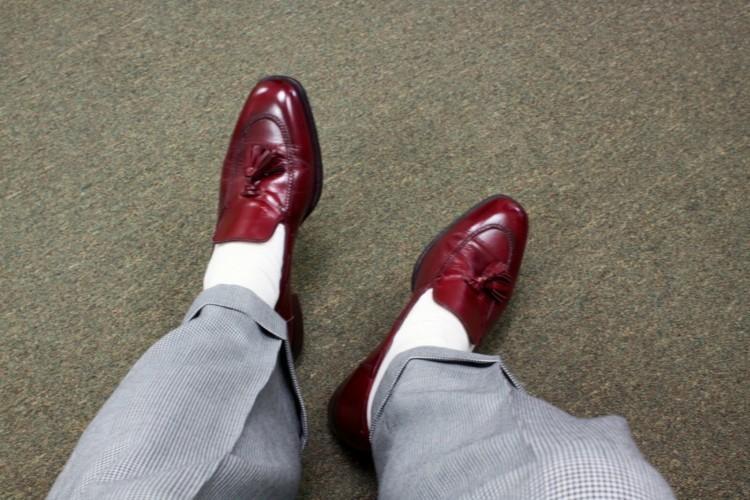 Modefehler und Flops Männermode Schuhe und Socken