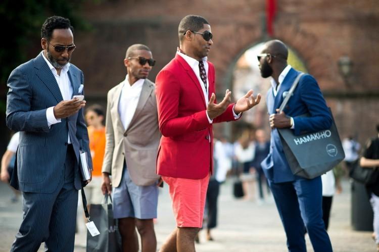 Modefehler und Flops Männermode farbiges Outfit