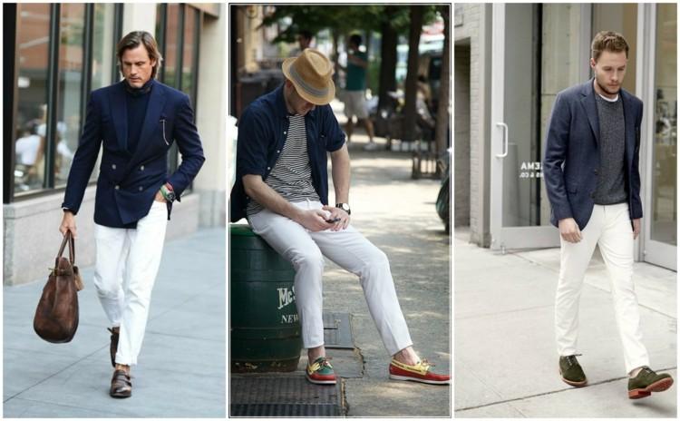 Modefehler und Flops Männermode weiße Jeans