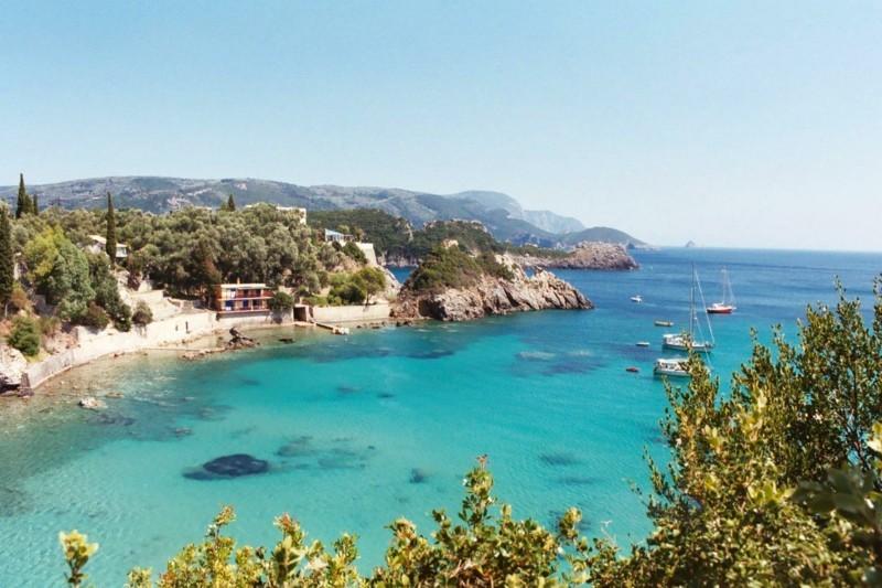Nach Korfu reisen Insel Korfu Griechenland Meer Natur