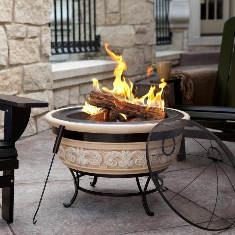 Outdoor Gaskamine – Lagerfeuerromantik für Ihr Zuhause