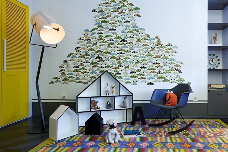 Schaukelstuhl Kinderzimmer Möbel Wanddeko Spielzeuge Schaukelstühle