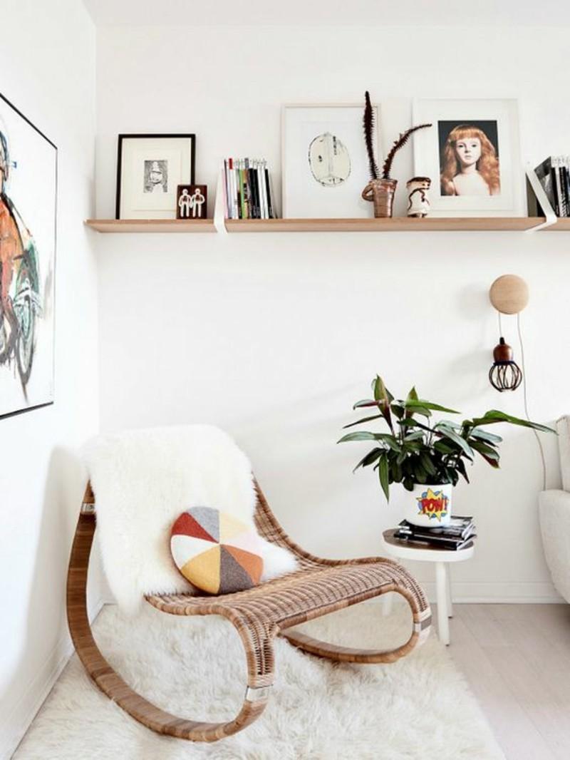 Wohnzimmermöbel Rattanmöbel Schaukelstühle