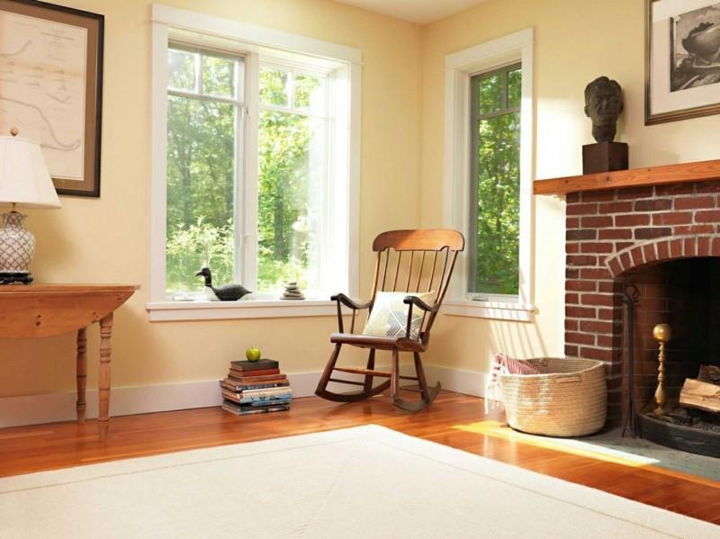 Schaukelstuhl Wohnzimmermöbel klassische Schaukelstühle