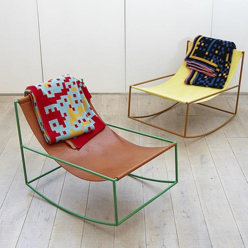 Der schaukelstuhl von klassik bis hin zum minimalismus for Schaukelstuhl aus leder