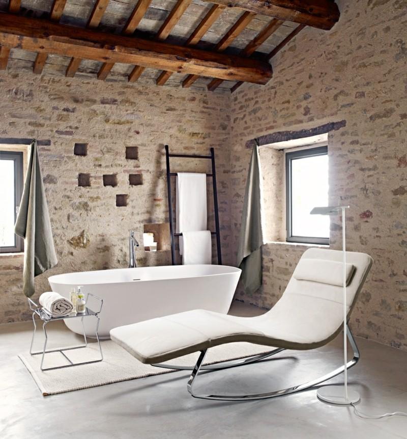 Schaukelstuhl im Badezimmer moderne Schaukelstühle
