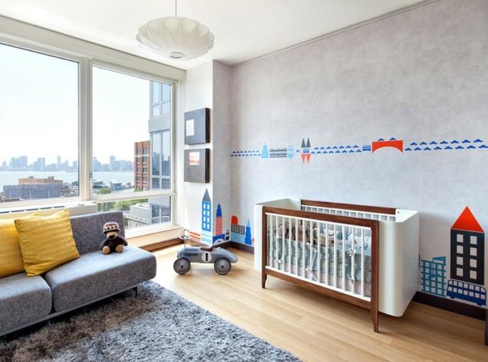 Sofa Kinderzimmer gestalten Babyzimmer Möbel Couch