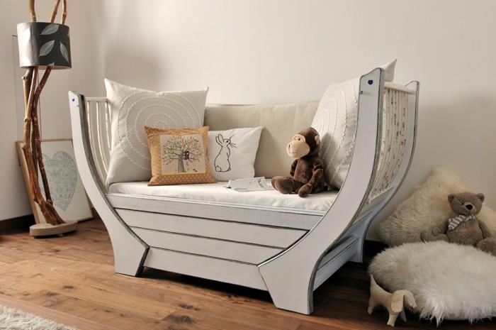 Sofa Kinderzimmer gestalten Kinderzimmer Möbel Boot Couch