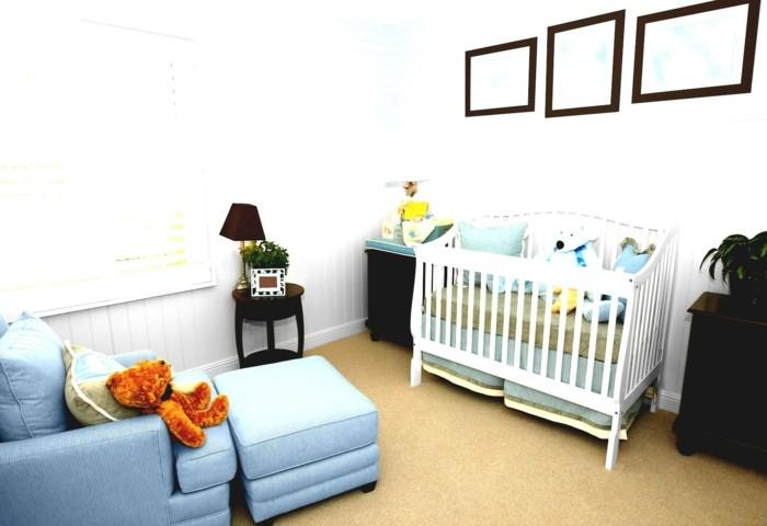 Sofa Kinderzimmer gestalten Kinderzimmer Möbel Sessel Fußhocker