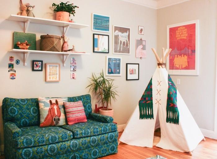 Sofa Kinderzimmer gestalten Kinderzimmer Möbel Spielecke