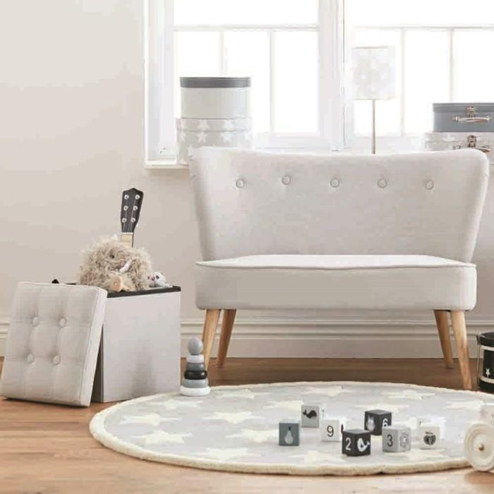 Sofa Kinderzimmer gestalten Spielecke Möbel Couch