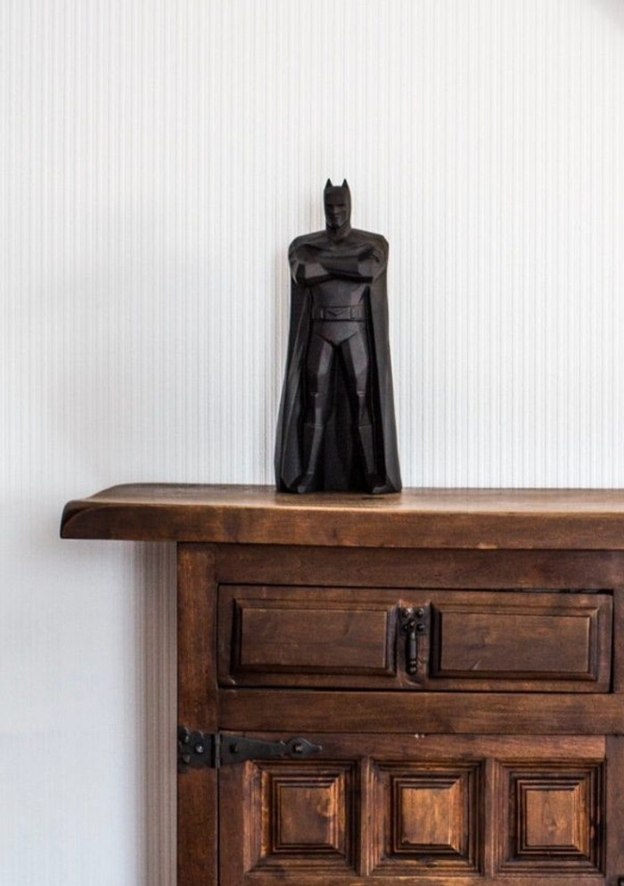 Superhelden Wohnaccessoires Deko Ideen Batman