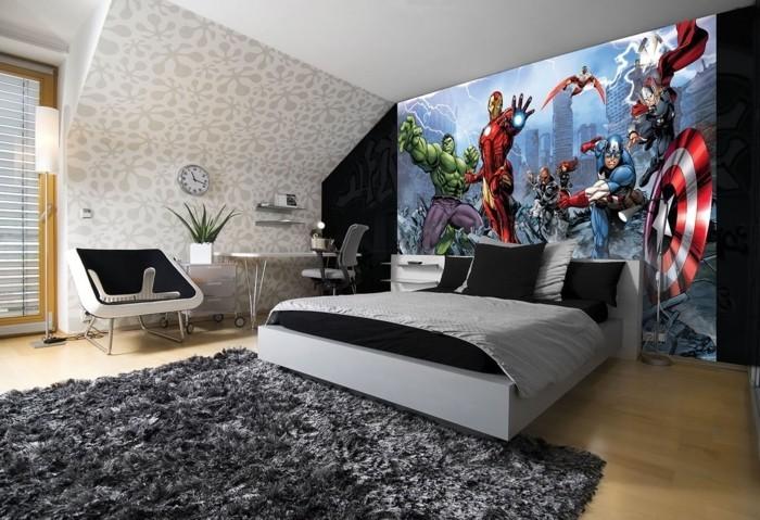 Superheros Wohnaccessoires Deko Ideen Wanddekoration