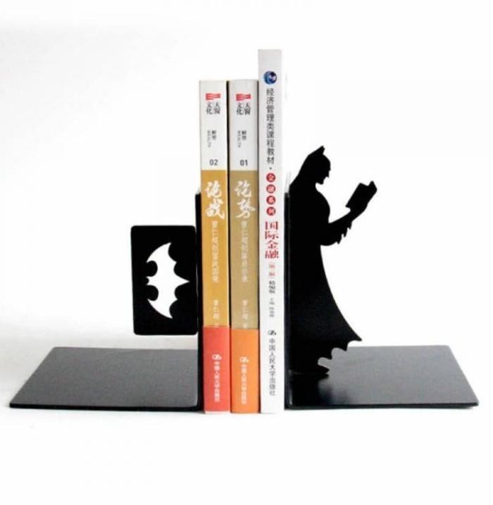 Superhelden Wohnaccessoires Deko Ideen für echte Fans Bücherstützen