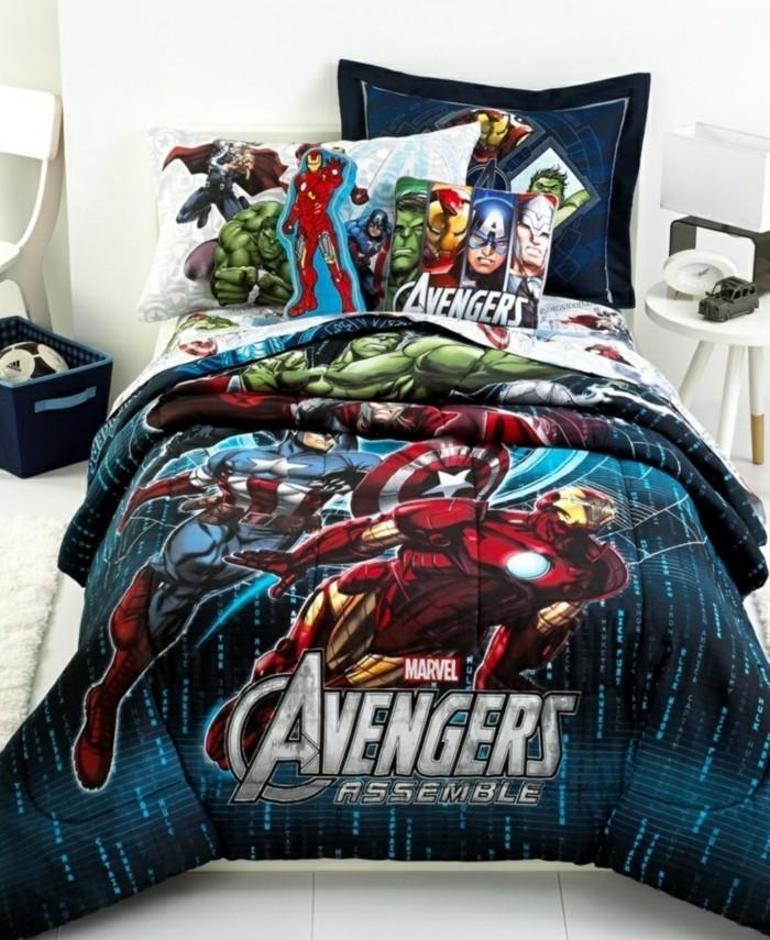 Superhelden Wohnaccessoires Deko Ideen für echte Fans Bettwäsche