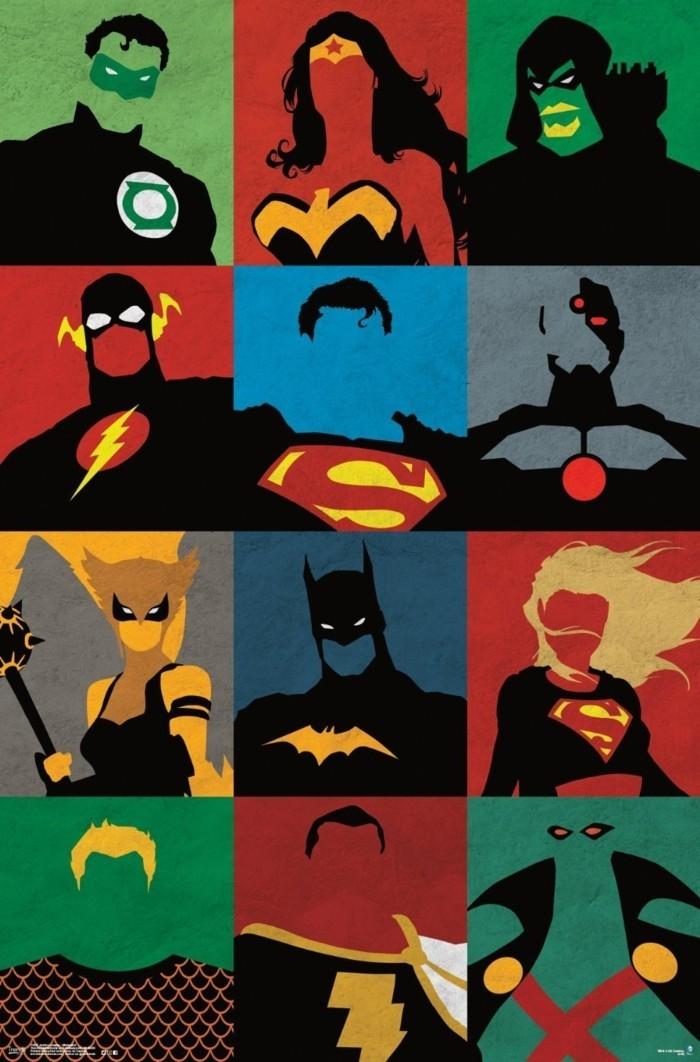 Superhelden Wohnaccessoires Deko Ideen für echte Fans Poster Wanddeko