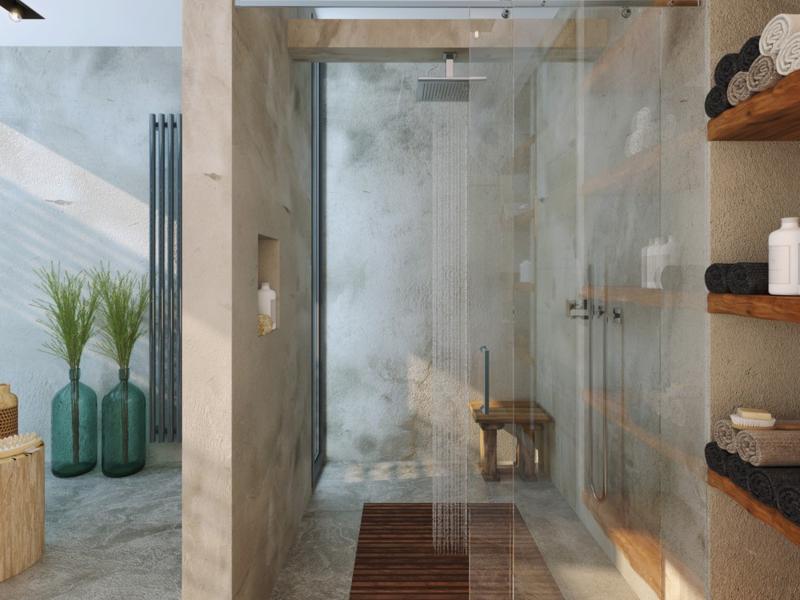 Traumbäder moderne Dusche Badmöbel Luxus Badezimmer