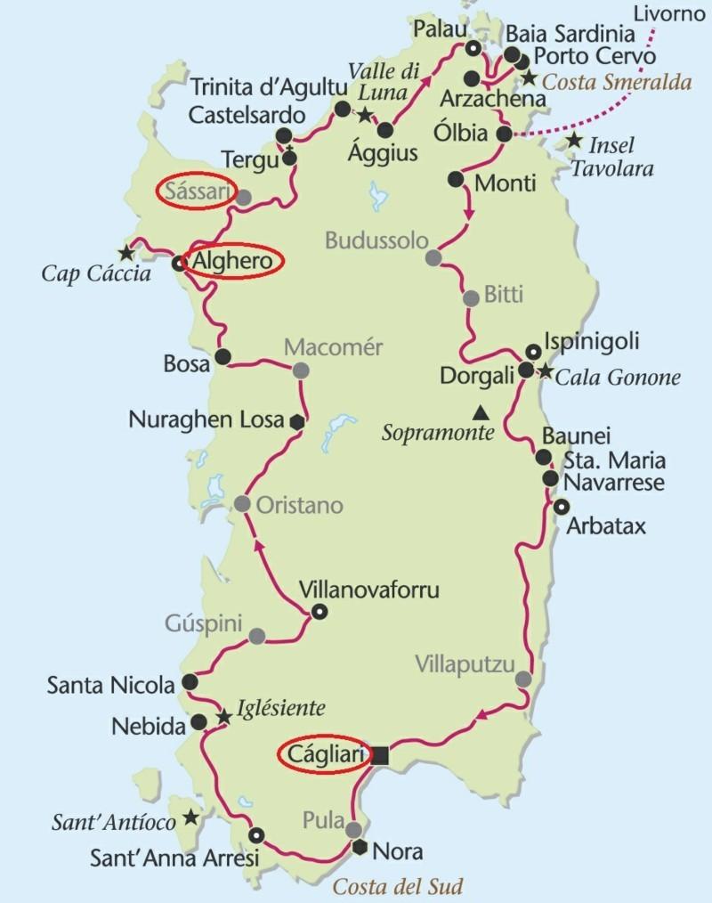Karte Sardinien Strände.Urlaub Sardinien Diese Städte Und Strände Sollten Sie Besuchen
