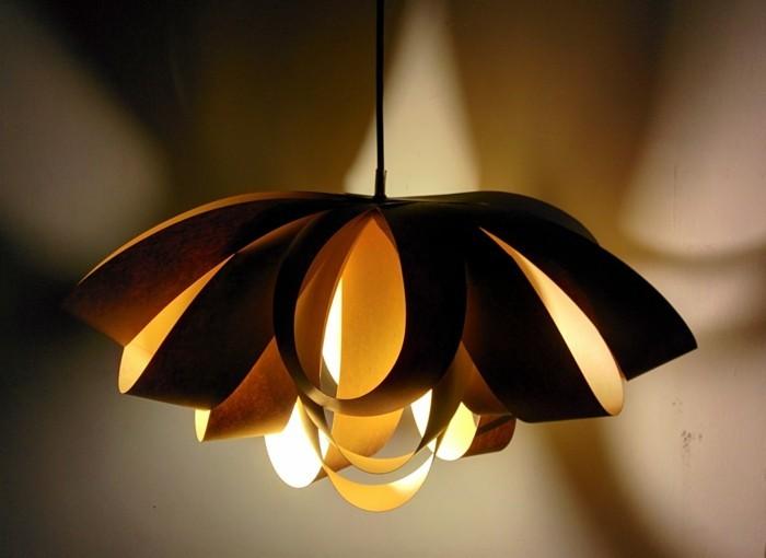 ausgefallene lampen diy ideen hängelampe