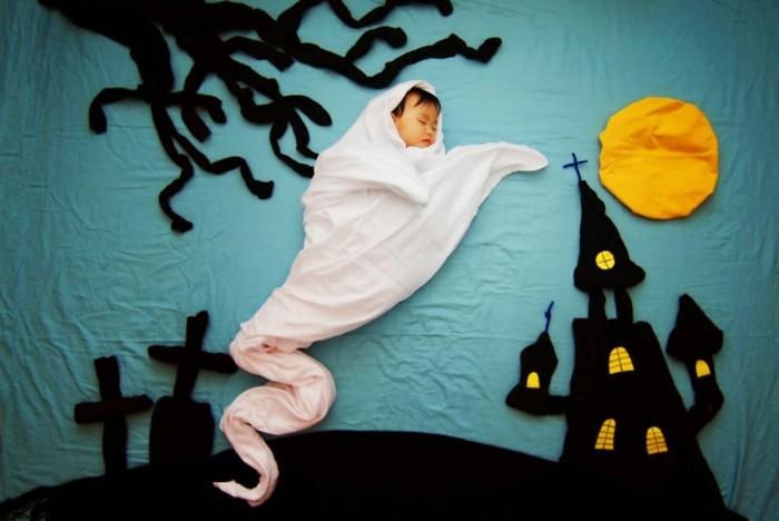 ideen für fotoshooting nachthimmel musik spooky