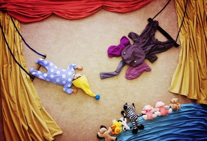 babyfotos nachthimmel musik zirkus