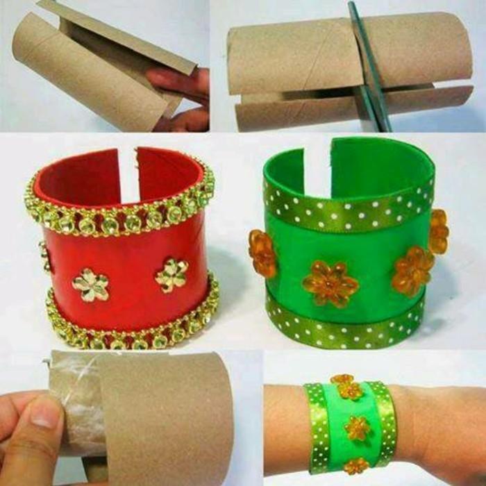 diy ideen deko ideen basteln mit kindern armband