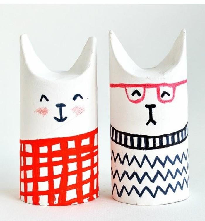 diy ideen deko ideen basteln mit kindern hund und katze