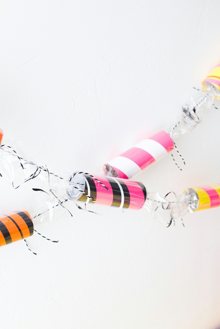 basteln mit klopapierrollen diy ideen deko ideen basteln mit kindern konfeti