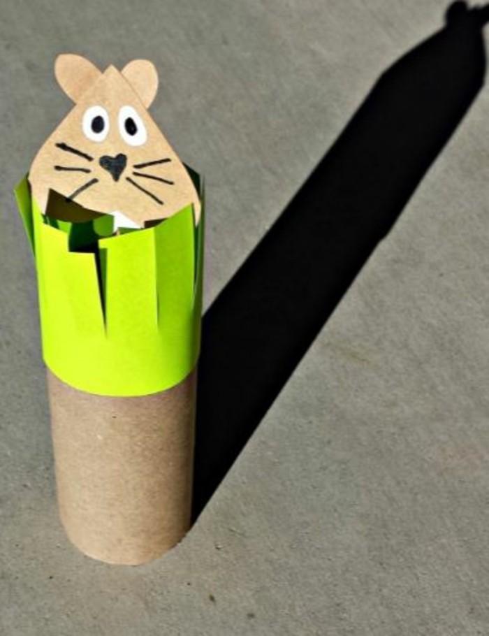 basteln mit klopapierrollen diy ideen deko ideen basteln mit kindern maulwurf