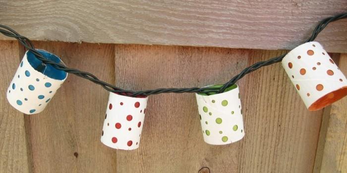basteln mit klopapierrollen diy ideen deko ideen basteln mit kindern partylichter
