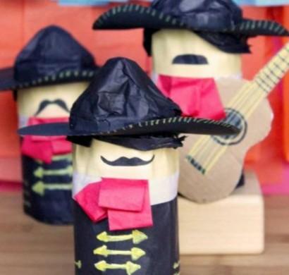 99 diy ideen f r das basteln mit klopapierrollen - Piraten deko basteln ...