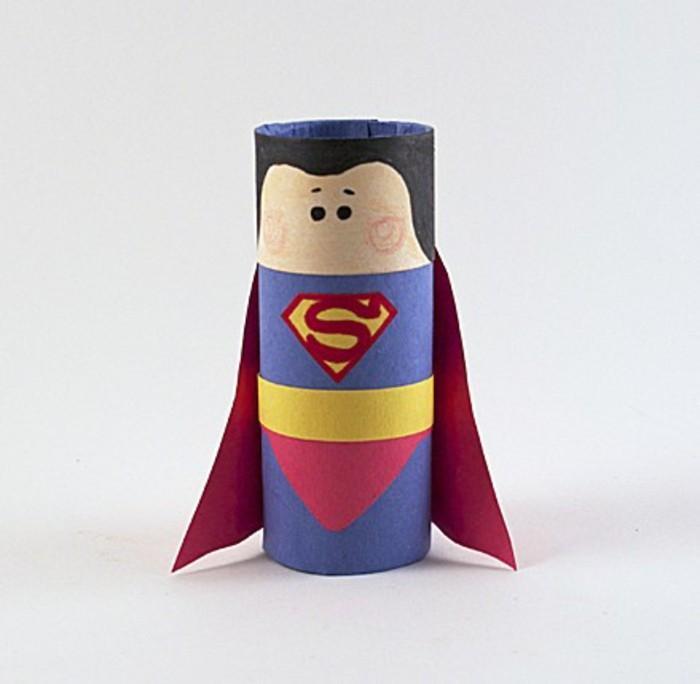 basteln mit klopapierrollen diy ideen deko ideen basteln mit kindern superheld