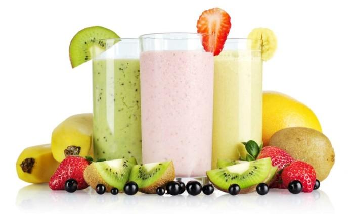 bauchfett verlieren abnehmen obst gemüse smoothies