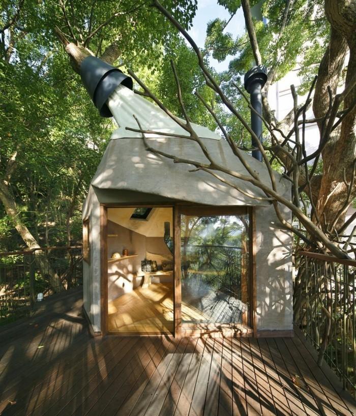 baumhaus bauen teehäuser japan ökologisches bauen